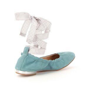 Gianni Bini Tie Wrap Flats